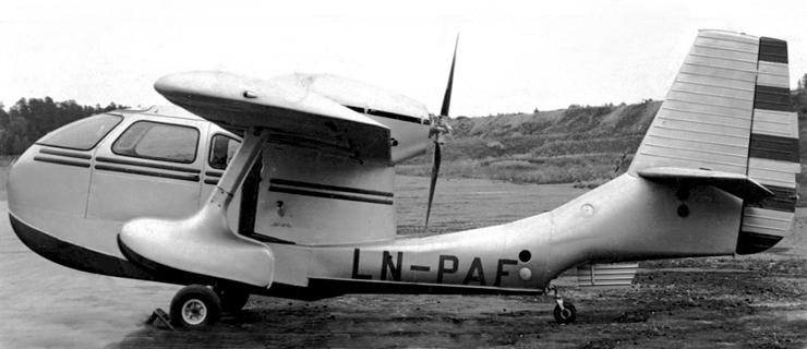 LN-PAF Photo: Norsk Luftfartsmuseum