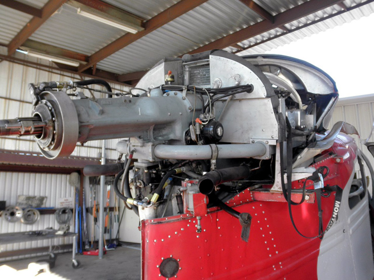 Republic Seabee Engine Photos