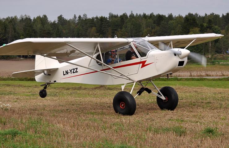 småfly til salgs