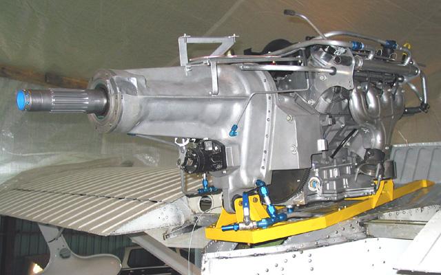 Chevy v8 aircraft engine